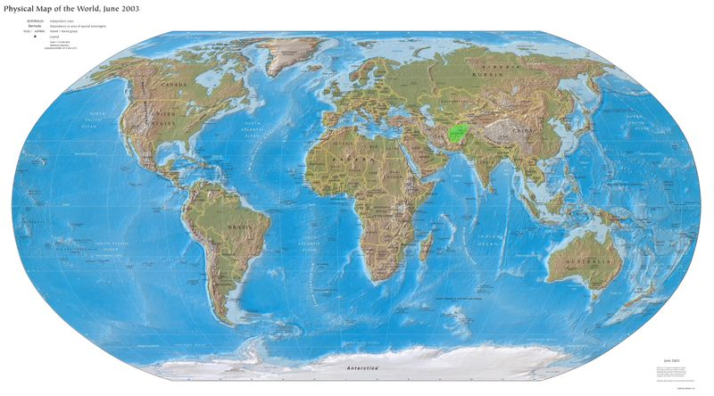 World Map 2003 AStan