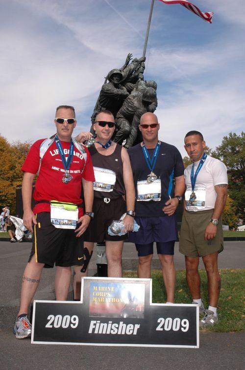 Edited 2009 Marine Corps Marathon Finishers