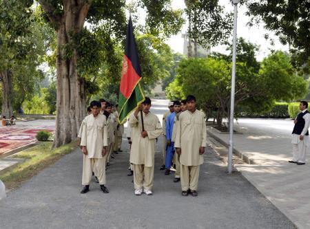 Afghan Cub Scouts