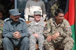 DMoI Munir Mangal BG Jeffrey Smith ANP MG Ameen Shariff