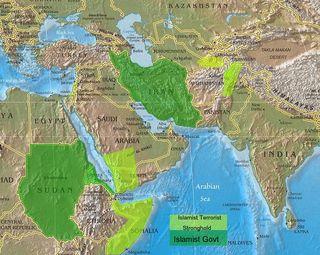 Islamist Strongholds