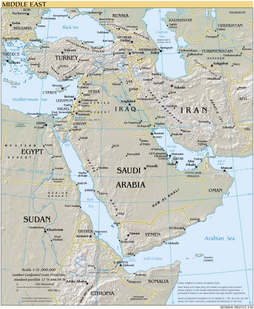 Map middle_east