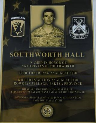 SGT Southworth Hall