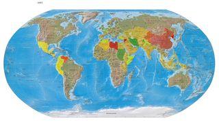 World Map Threats