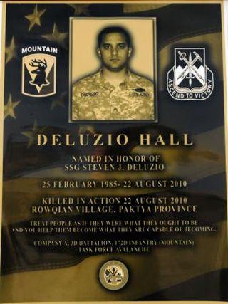 SSG Deluzio Hall