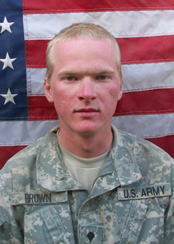 SPC Jeremy Brown