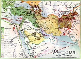 Map middle_east-19th Century
