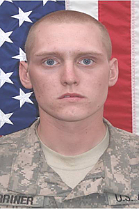 PFC Christian M Warriner