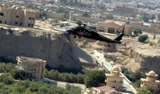 Blackhawk over Tikrit