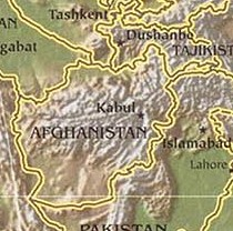 Afghanistan-Topo