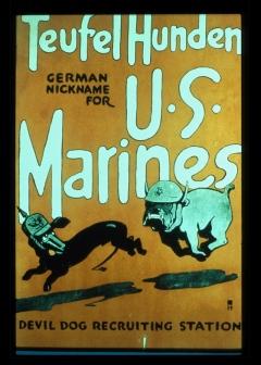 USMC WWI Recruiting