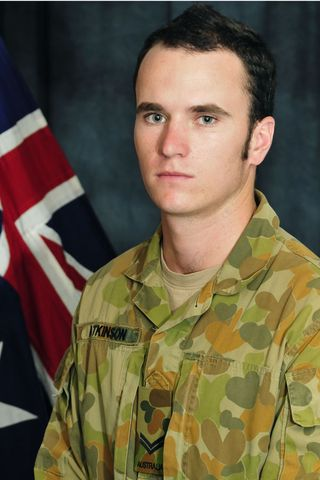 Twenty-two-year-old Corporal Richard Atkinson was from the Darwin-based 1st