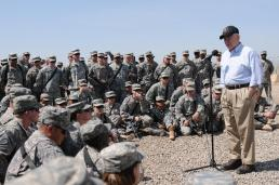 SecDef Gates in Iraq
