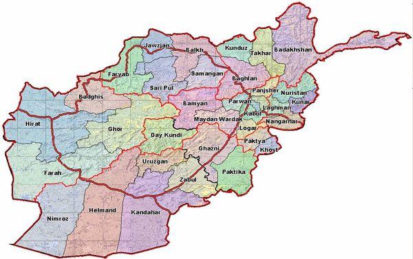 fob lightning afghanistan map War In Afghanistan News 7 Dec 2010 War On Terror News fob lightning afghanistan map