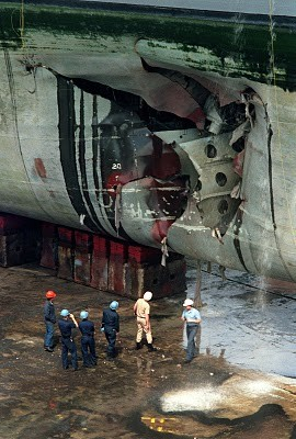 Thor-USS Tripoli Mine Damage
