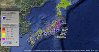 Japan Interactive Map Showing Current Radiation Levels War On
