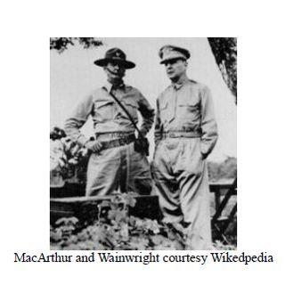 MacArthur and Wainwright