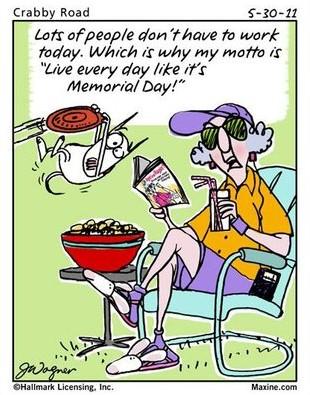 Maxine's Memorial Day