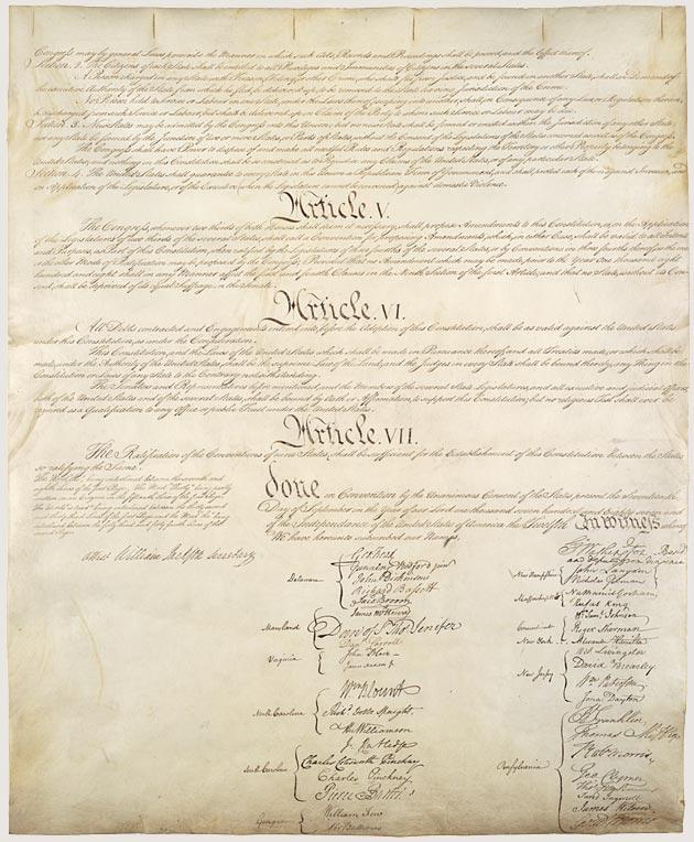 US Constitution p4