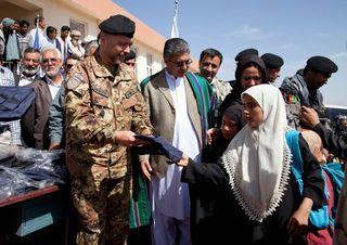 Herat School Opening