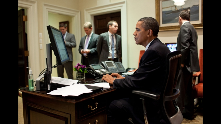 Obama Gets his speech