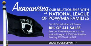 Pow-mia donations