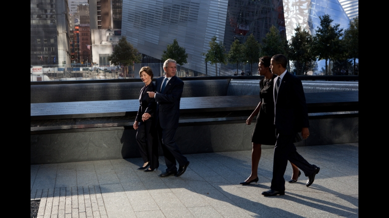Bush Leads Obama 9-11-11