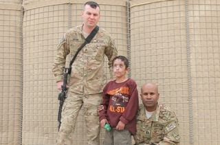 SGT Anthony Merino CPT Giles Wright