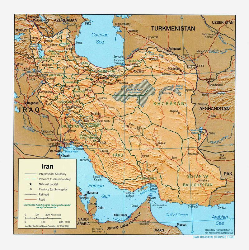 Iran relief