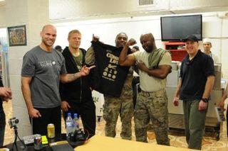 UFC Fighters Farah