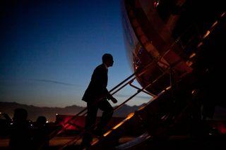 Obama Departure