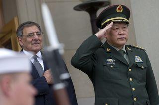 Panetta salutes Chinese MoD