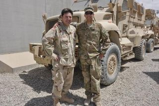Julio and 1LT Francisco Arocho