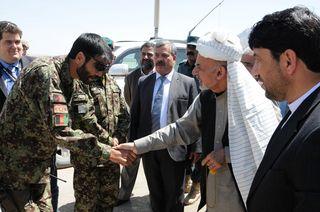 Ashraf Ahmadzai Transition Coordinator