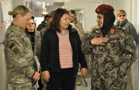 BG Mohammadzai MG Angela Salinas