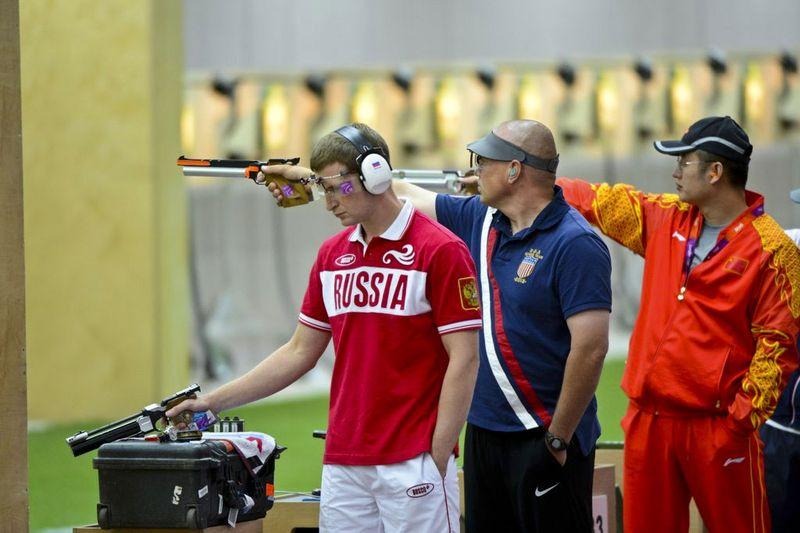 SFC Daryl Szarenski 2012 Olympics