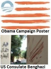 Obama Flag of Benghazi1
