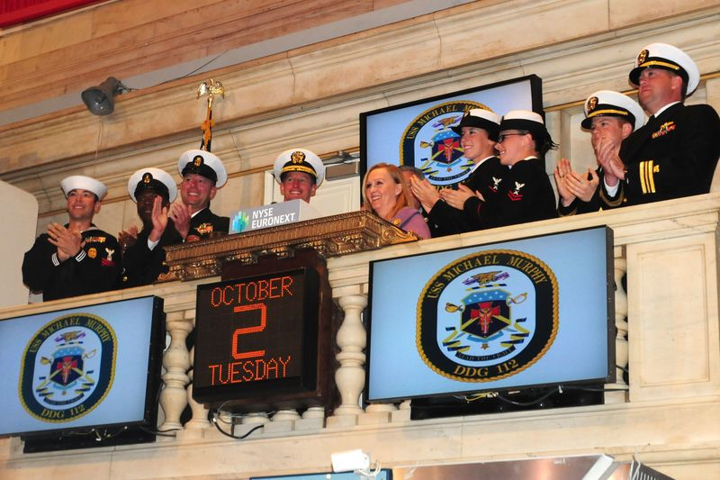 NYSE honors USS Michael Murphy