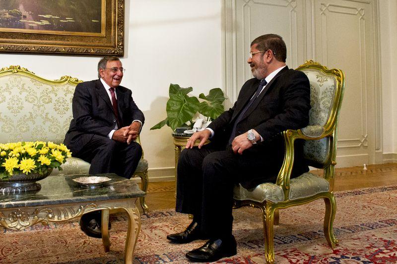 Egypt Pres Muhammad Mursi Muslim Brotherhood SecDef Panetta
