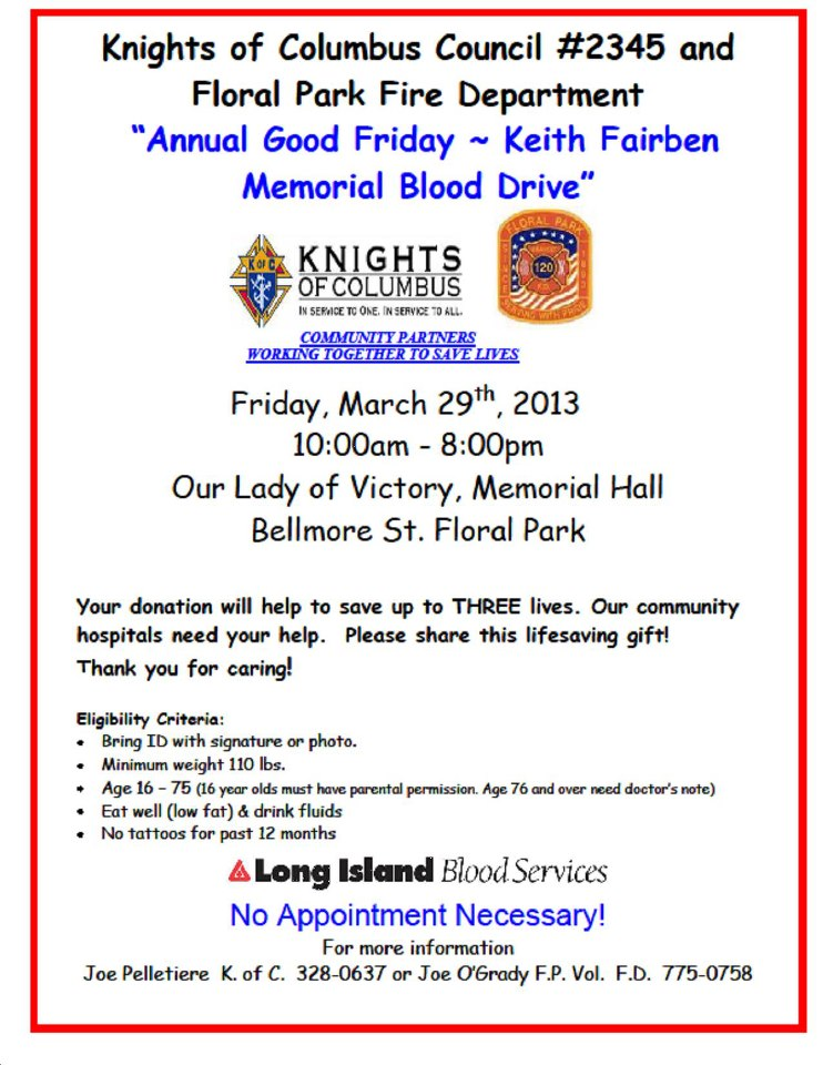 Keith Blood Drive