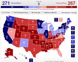 RCP Obama win map