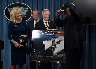 USS Delaware - Bidens