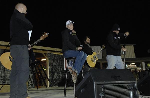 Kellie Pickler 16 Dec 2012 Kandahar