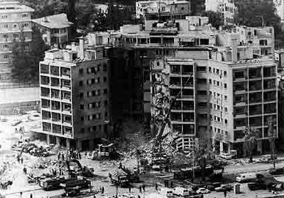 Beirut Embassy Bombing 4-18-83