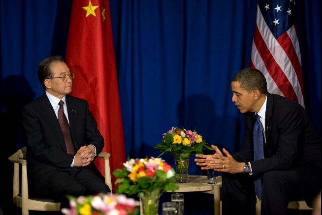 Obama subservient to Premier Jiabao