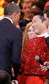 Obama-Anti-American rapper PSY
