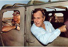 GEN H Norman Schwarzkopf Pres HW Bush