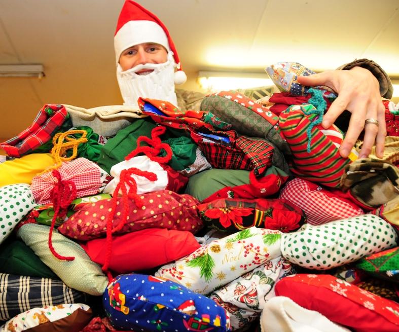 Santa in Tarin Kowt