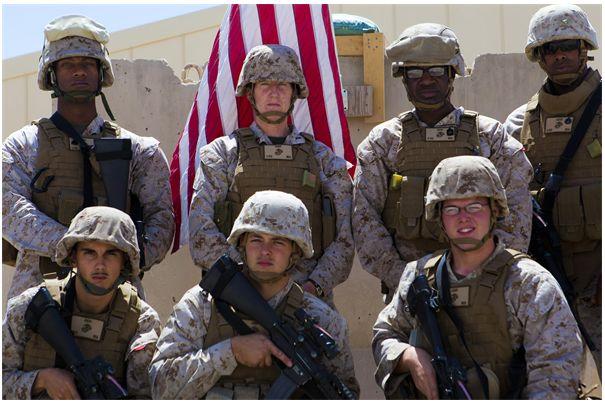 Marines Go Postal